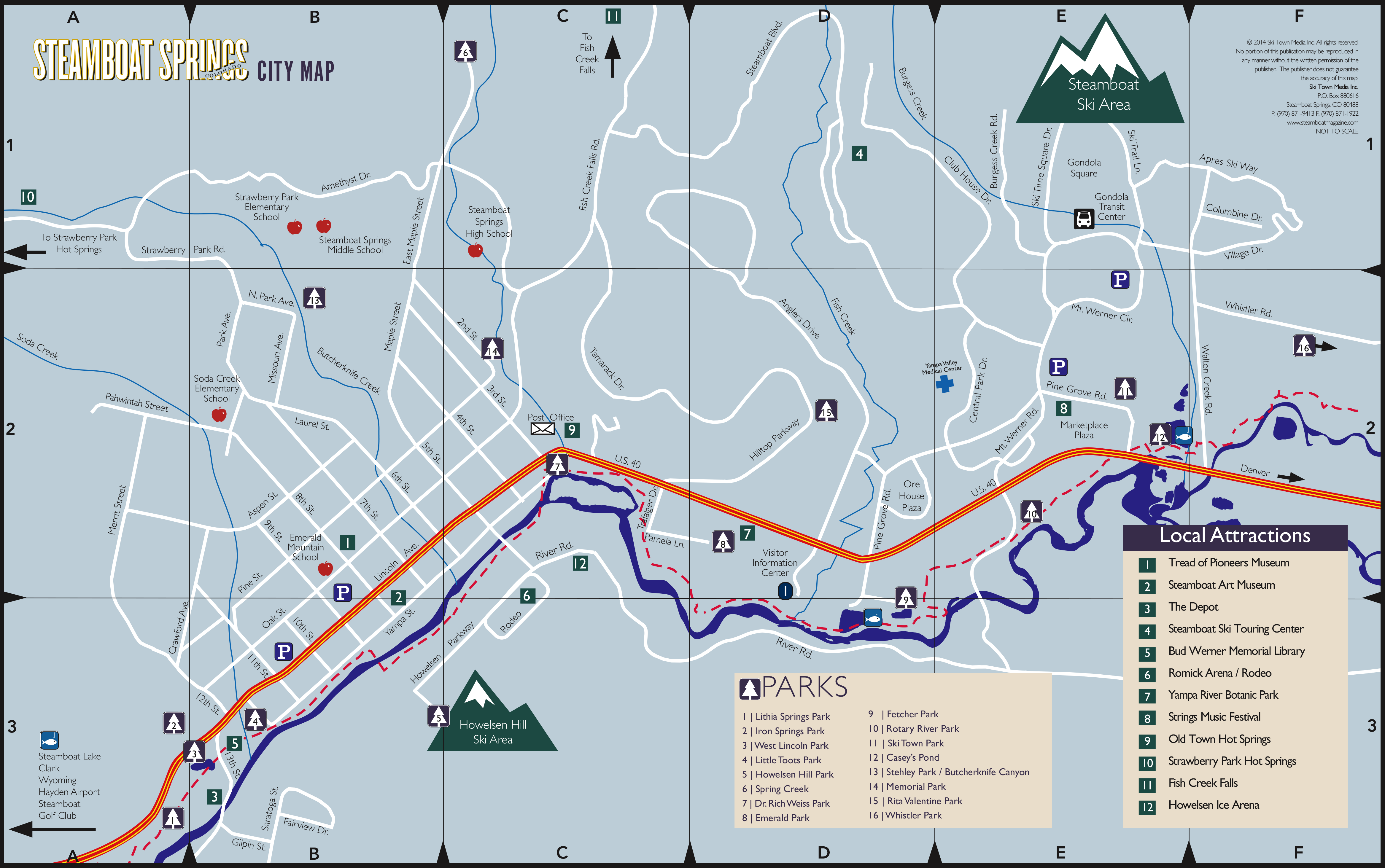 Steamboat Map Steamboat Springs Lodging Amp Accommodations