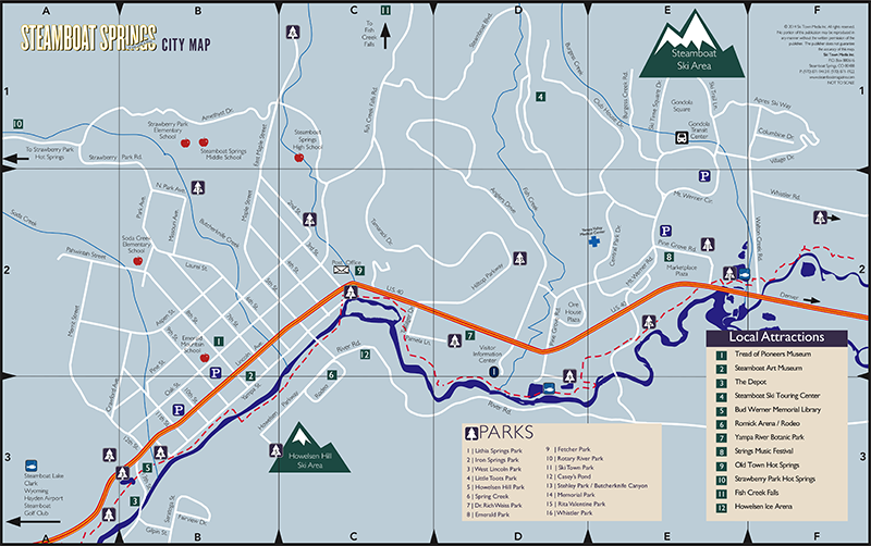 Steamboat Visitors Map