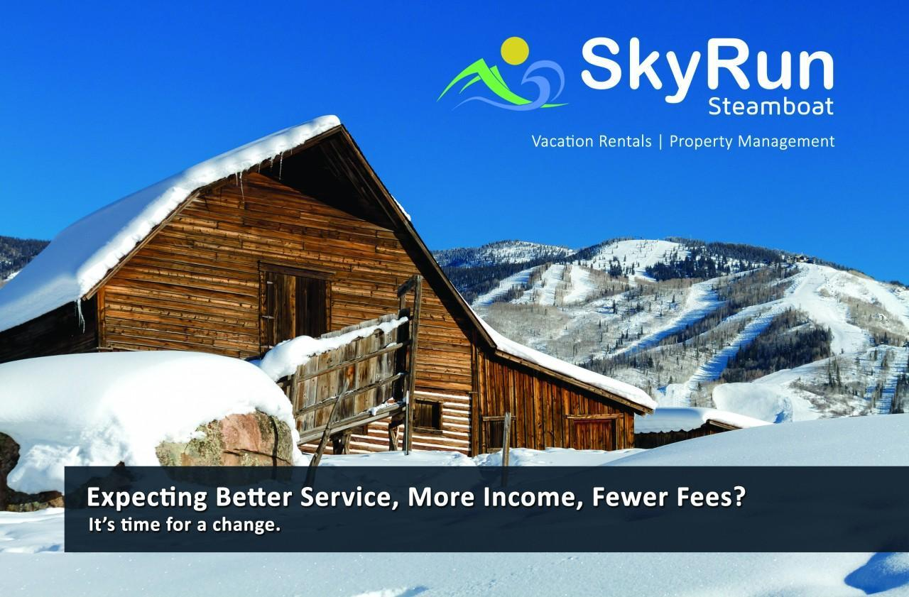 SkyRun Steamboat | Owner Postcard